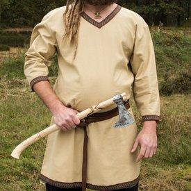 Sand färgad Viking tunika