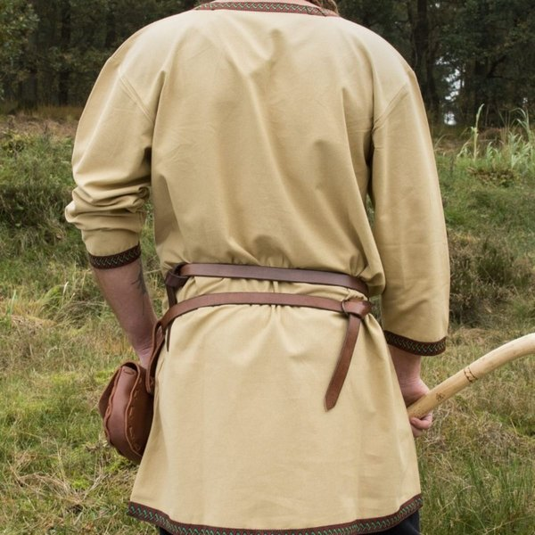 Sand colored Viking tunic