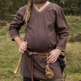 Brązowa tunika Viking