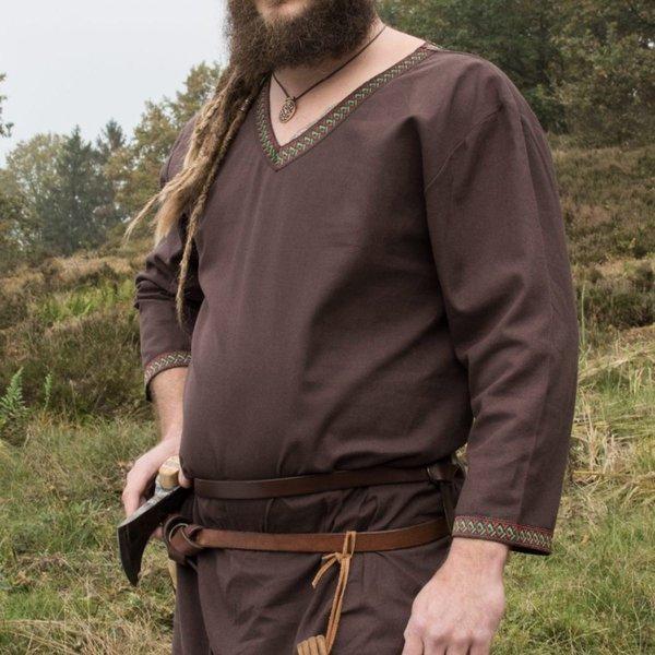 Brown Viking tunika