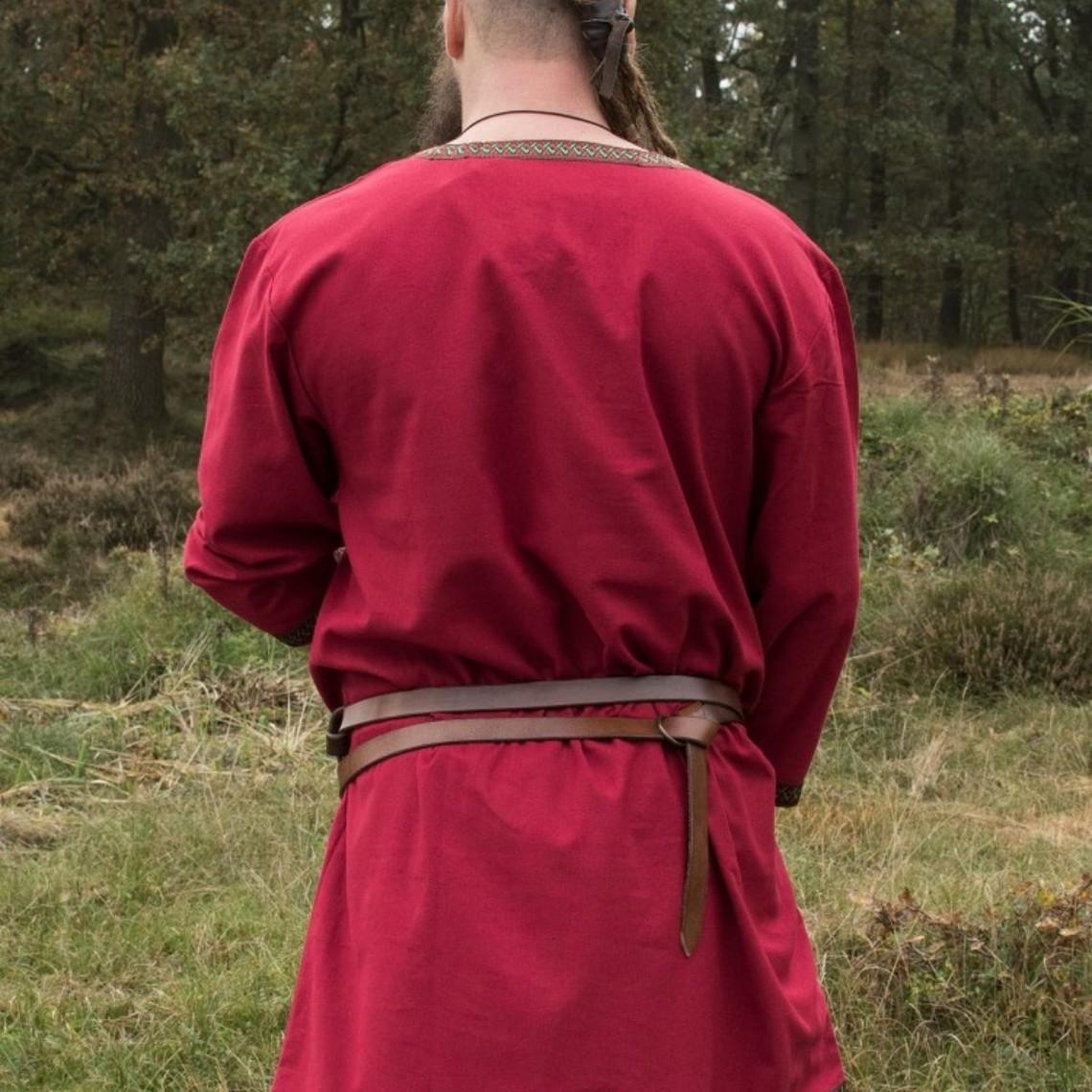 Donkerrode Vikingtuniek