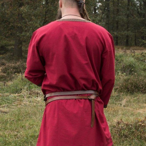 Dark red Viking tunic