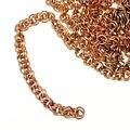 De Viking cadena de enlace doble, bronce, por cm