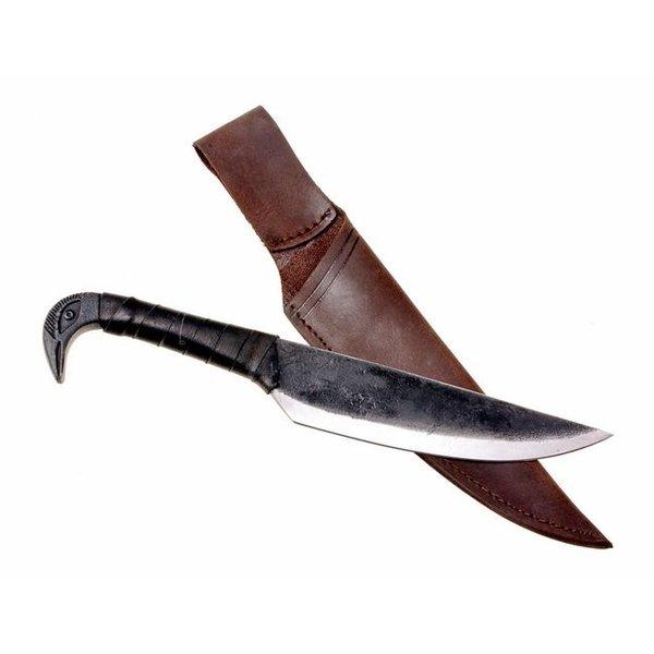 Celtic kniv med fuglemotiv
