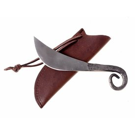 Cuchillo prehistorisch con empuñadura enrollada