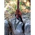 Germansk hals kniv DAMAST stål