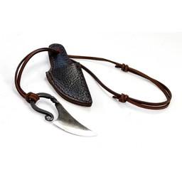 Viking acciaio al carbonio coltello collo