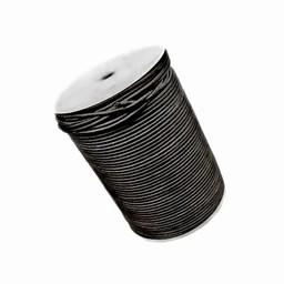 100 Meter Lederband 2 mm, naturel