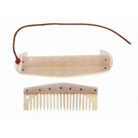 Swedish comb with holder