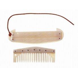 Swedish comb with holder
