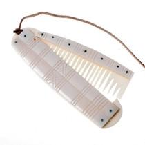 Viking comb Birka with holder