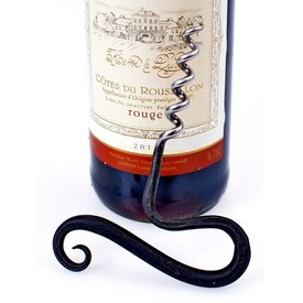 Hand-forged iron corkscrew
