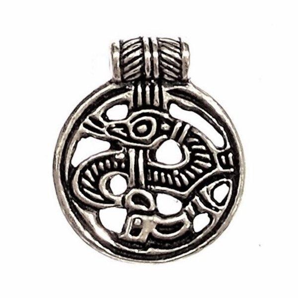 amulette Birka 9ème siècle, bronze argenté