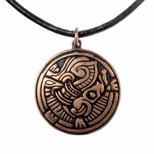 Norse Borre Amulett, Bronze