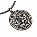 Norse Borre amulet, silvered