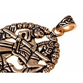 Gokstad Reiter Amulett, Bronze