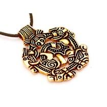 Viking juvel Norfolk Borre stil, brons