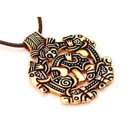 Viking Jewel styl Norfolk Borre, brąz
