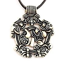 Viking juvel Norfolk Borre stil, forsølvede