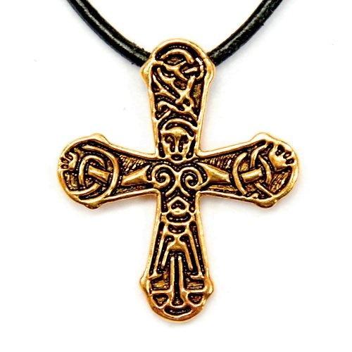 Gatebo vichingo croce, bronzo