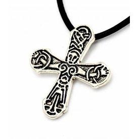 Gåtebo Viking kors, försilvrad