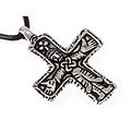 Gotland bijou croix Viking, argentait