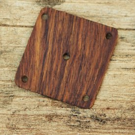 tarjeta de tejer de madera