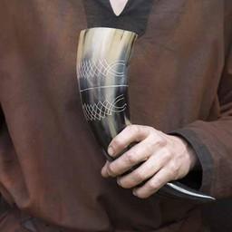Drinking horn Druid 0,5L, light