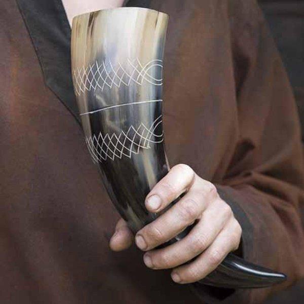 Epic Armoury Corno da bere Druid 0,5L, chiaro
