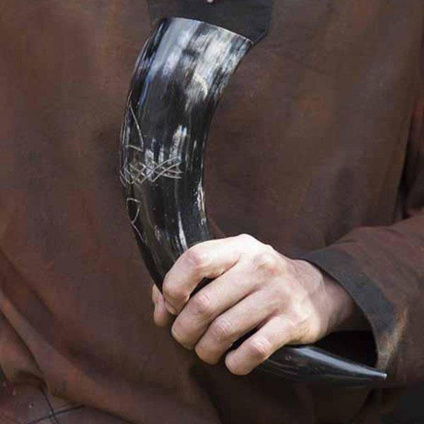 Epic Armoury Keltisk drikkehorn 0,5L, mørk