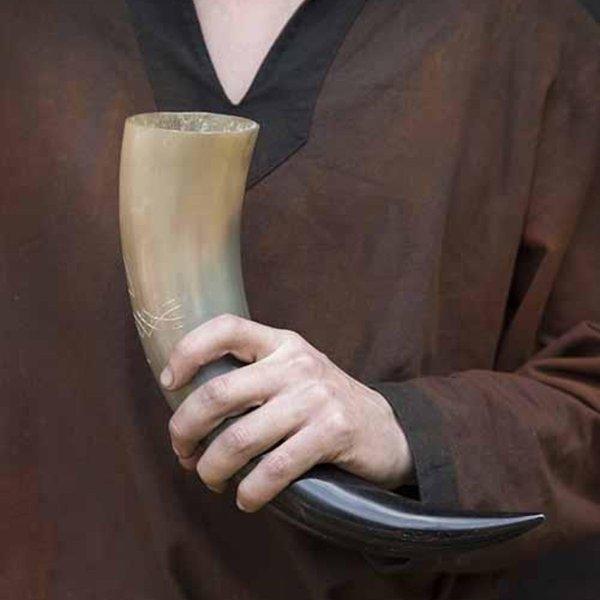 Epic Armoury Cuerno para beber celto 0,5L, claro