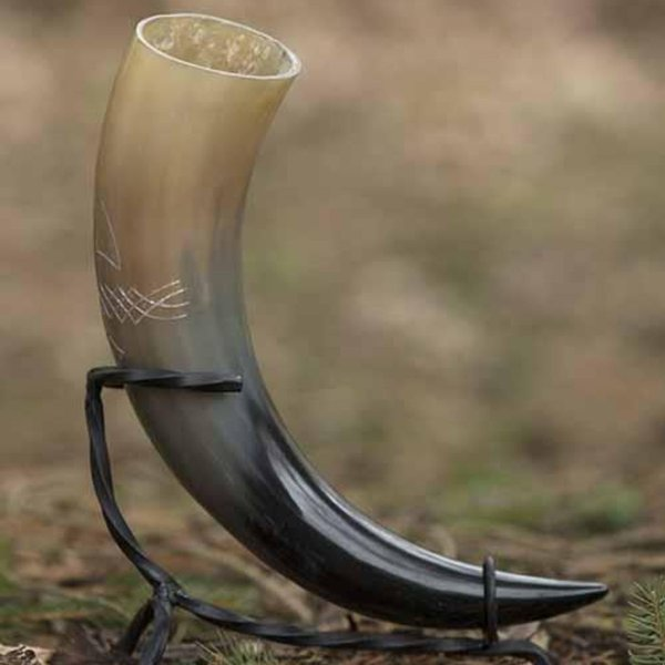 Epic Armoury Celtic drinking horn 0,5L, light