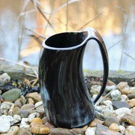Epic Armoury Horn cup med örat 0,5L, mörk