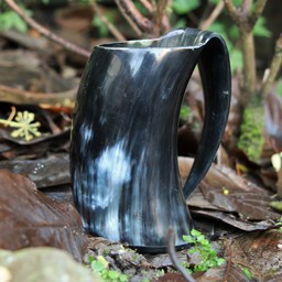 Horn Tasse mit Ohr 0,5L, dunkel