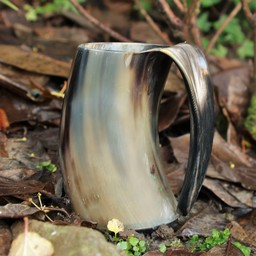 Horn cup with ear 0,5L, light