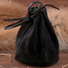 Bolsa de cuero, negro