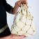 Leonardo Carbone Noble pouch, white