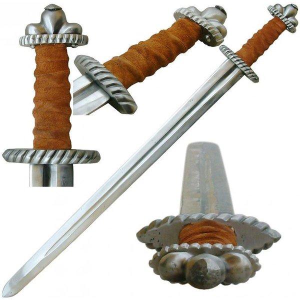 Espada vikinga Hariasa semi-afilada