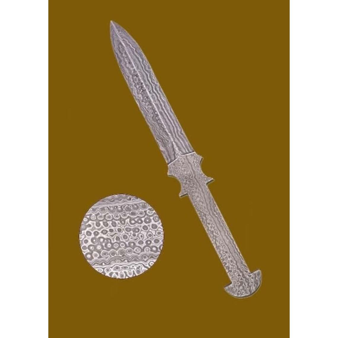 Deepeeka Cuchillo de acero Damasco
