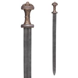 Anglo-Saxon sword Fetter Lane, damast steel