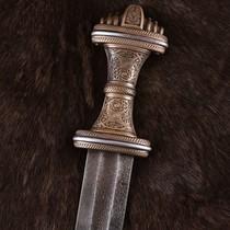 Deepeeka Anglo-Saxon sword Fetter Lane, damast steel