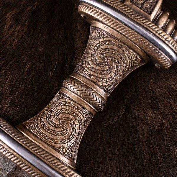 Deepeeka Angelsaksiske sværd Fetter Lane, DAMAST stål