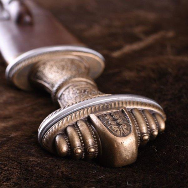 Deepeeka épée anglo-saxon Fetter Lane, acier damast