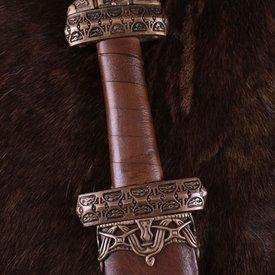 Deepeeka Viking svärd ön Eigg, läder grepp, härdat