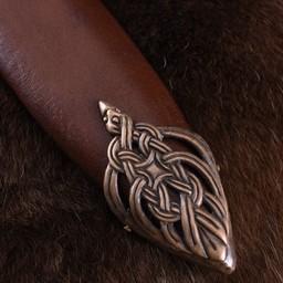 Viking sword island Eigg, leather grip, tempered