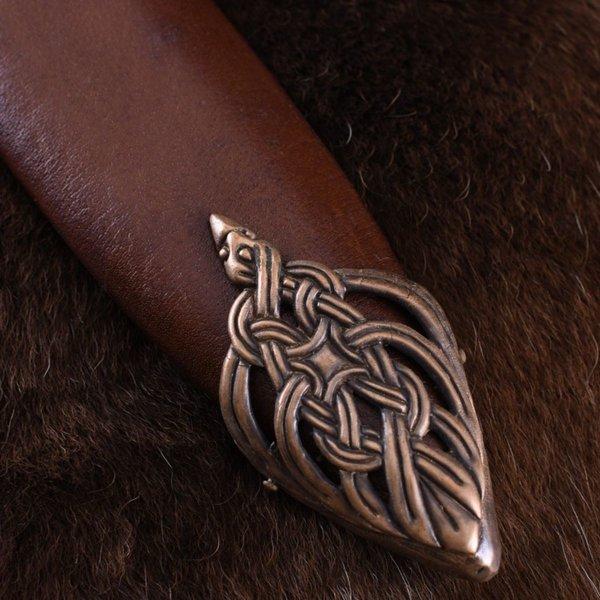Deepeeka Viking sværd ø Eigg, læder greb, hærdet