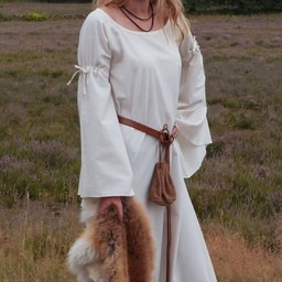 Medieval gothic dress Iseult, natural