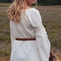 Mittelalterliches gotisches Kleid Iseult, natürlich