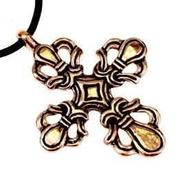Viking Kreuz Ringerike Stil, Bronze