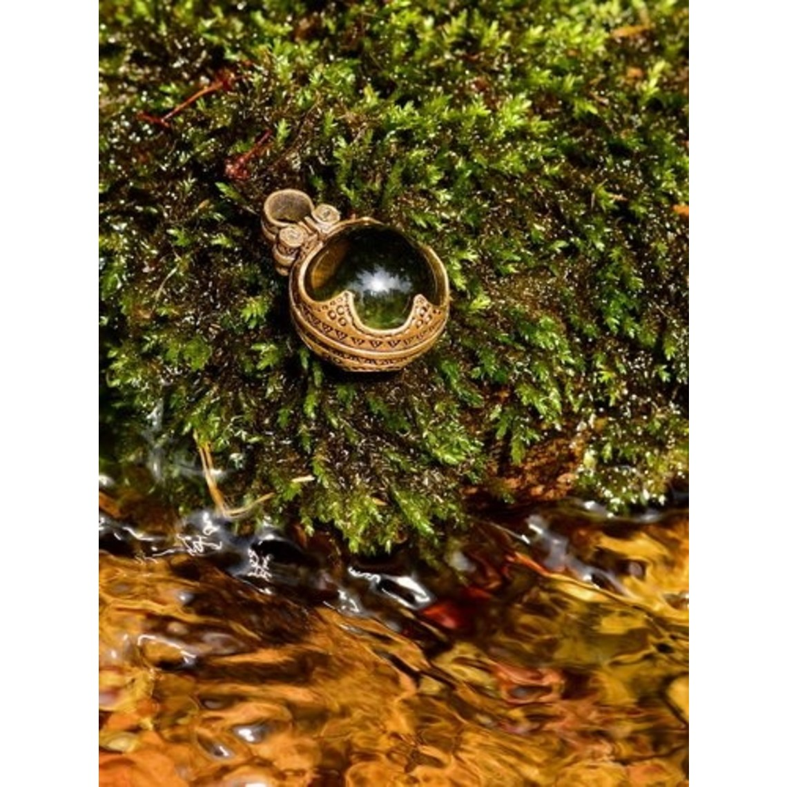 Gotland Vikingbergkristal M, brons